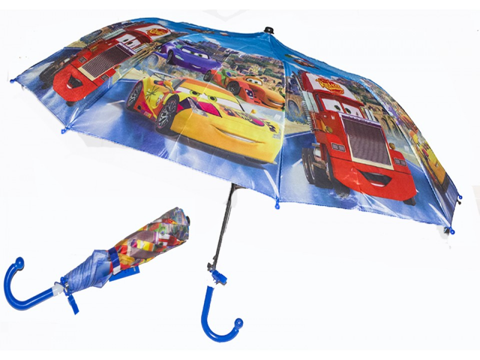 Зонт складной Тачки